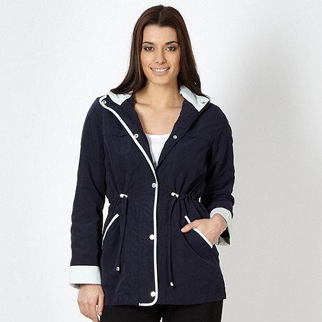 Classics - Navy hooded jacket