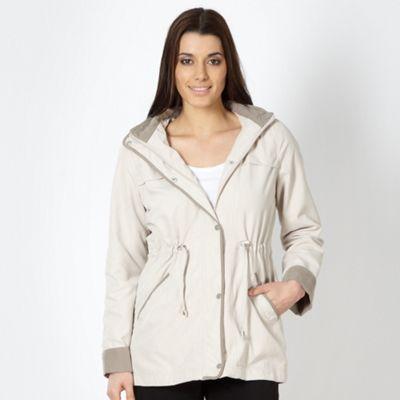 Classics Natural hooded jacket - . -