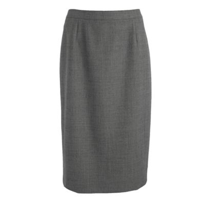 Debenhams Classics Khaki herringbone pencil skirt product image