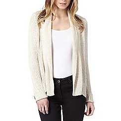 The Collection - Natural corded cardigan