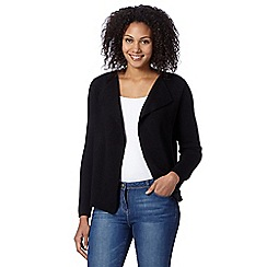 The Collection - Black plain cardigan jacket