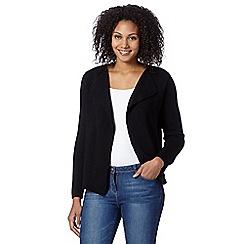 The Collection - Black plain cardigan jacket