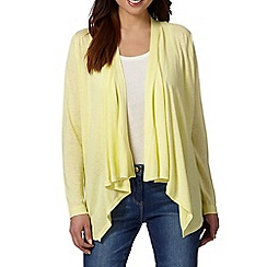 The Collection - Yellow edge to edge cardigan