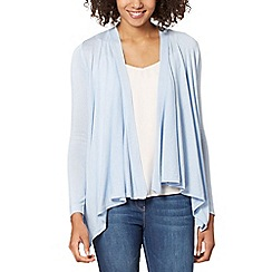 The Collection - Light blue edge to edge cardigan
