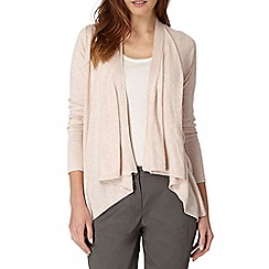 The Collection - Natural edge to edge cardigan