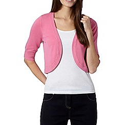 The Collection - Pink knitted shrug