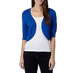 The Collection Petite - Petite bright blue knitted shrug
