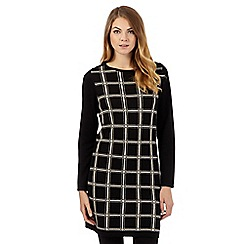 The Collection - Black checked tunic