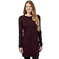 The Collection - Purple zip detail tunic
