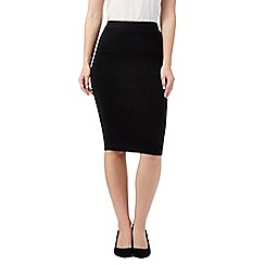 The Collection - Black knitted skirt