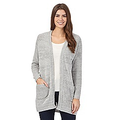 The Collection - Grey boucle cardigan