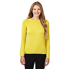 The Collection - Lime popper back jumper
