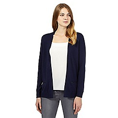 The Collection - Navy pocket cardigan