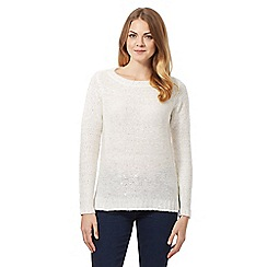 The Collection - White sequin detail jumper