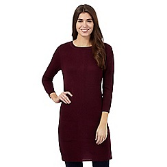 The Collection - Plum ribbed tunic