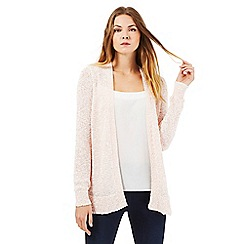 The Collection - Light pink textured cardigan