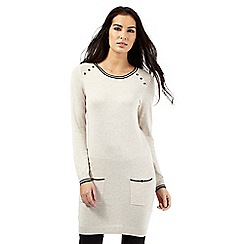 The Collection - Cream tipped tunic