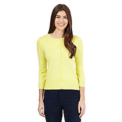 The Collection Petite - Lime crew neck cardigan