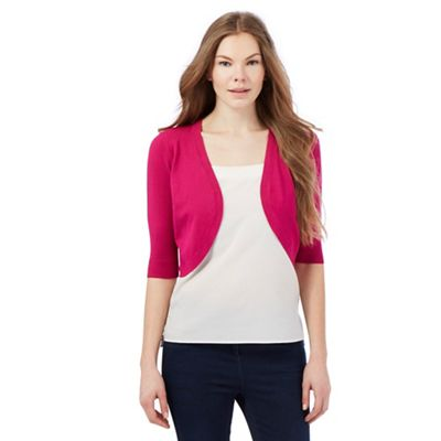 The Collection Pink open shrug