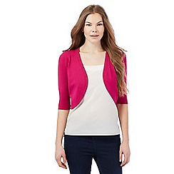 The Collection - Pink open shrug