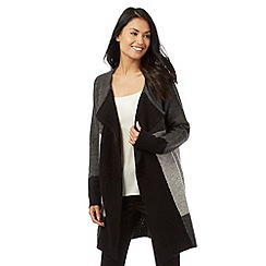 The Collection - Grey colour block cardigan