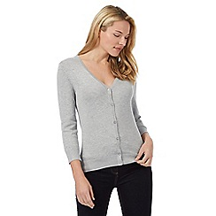 The Collection - Grey V neck cardigan