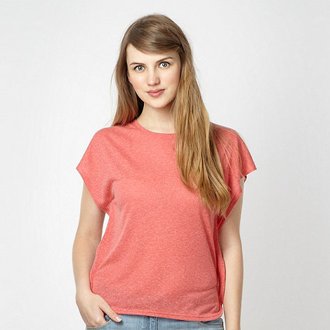 H! by Henry Holland - Designer red poncho style t-shirt