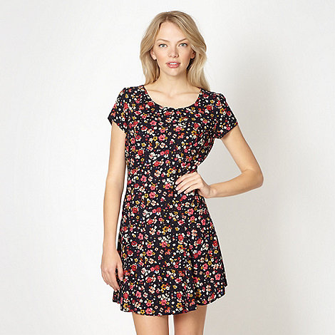 H! by Henry Holland - Designer navy floral dress