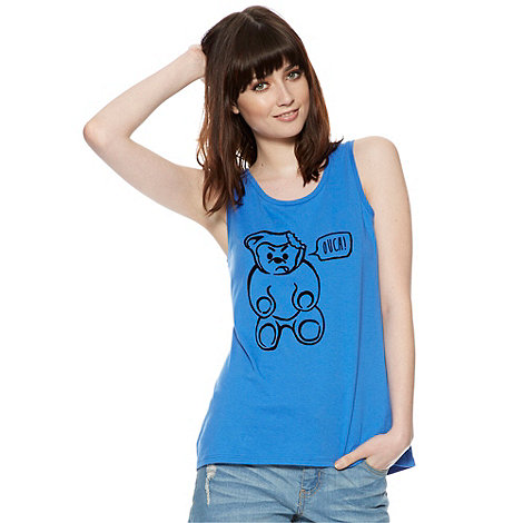 H! by Henry Holland - Designer bright blue gummy bear vest