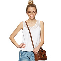 H! by Henry Holland - Designer white lace swing top