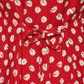 H! by Henry Holland - Designer red daisy print dress Alternative 2