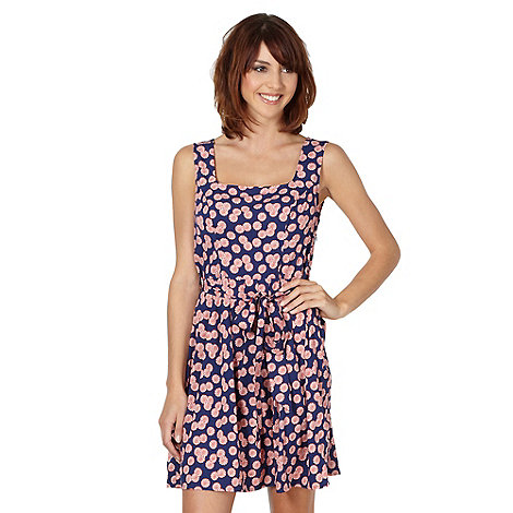 H! by Henry Holland - Designer navy candy swirl dress