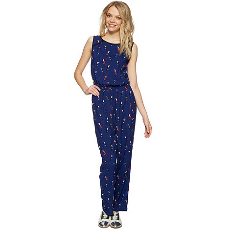 H! by Henry Holland - Designer navy toucan jumpsuit