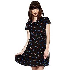 H! by Henry Holland - Designer spotty pineapple print smock dress