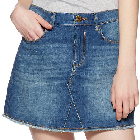 H! by Henry Holland - Designer blue denim skirt