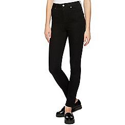 H! by Henry Holland - Designer black 'High Waisted Walter' skinny jeans