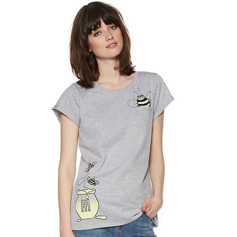 H! by Henry Holland - Designer grey bumblebee t-shirt