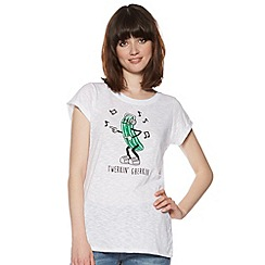 H! by Henry Holland - Designer white twerkin gherkin t-shirt