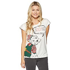 H! by Henry Holland - Christmas 'Elfie' dog t-shirt
