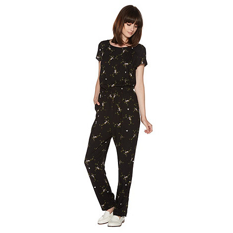 H! by Henry Holland - Black koala print jumpsuit