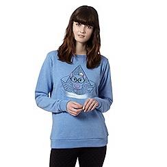 H! by Henry Holland - Designer blue sailing hamster sweater