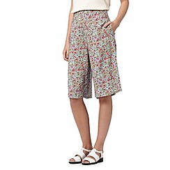 H! by Henry Holland - Designer light blue floral culottes