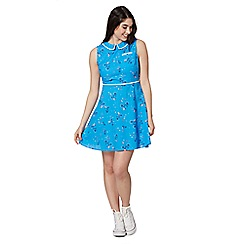 H! by Henry Holland - Blue bicycle print dress