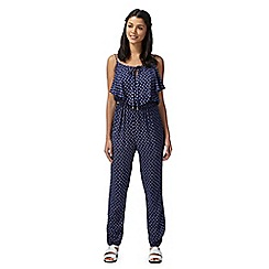 H! by Henry Holland - Designer navy floral jumpsuit