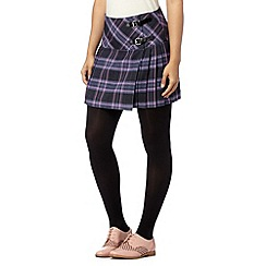 H! by Henry Holland - Designer purple checked kilt