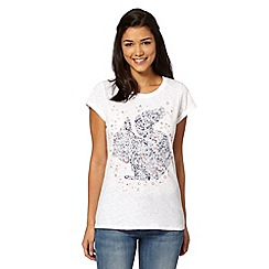 H! by Henry Holland - Designer white star squirrel t-shirt