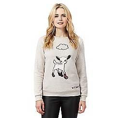 H! by Henry Holland - Natural deer jumper