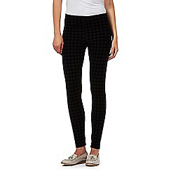 H! by Henry Holland - Designer black checked leggings