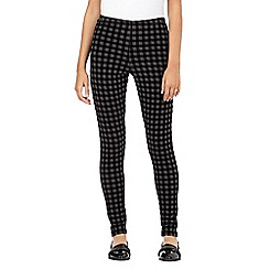 H! by Henry Holland - Designer grey checked leggings