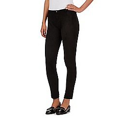 H! by Henry Holland - Black suedette trousers